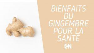 bienfaits du gingembre pour la santé
